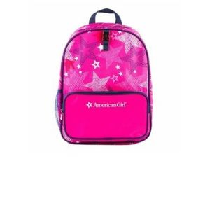 American Girl Child Size School Backpack Stars